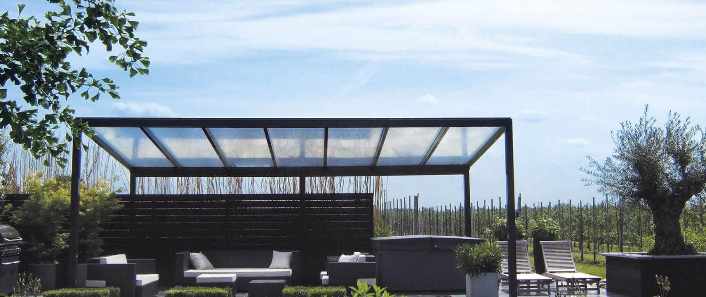 Terrassendach Komfort Terrassendach